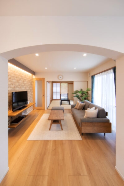 多彩なアイデアから叶えた、新築のように快適なわが家5
